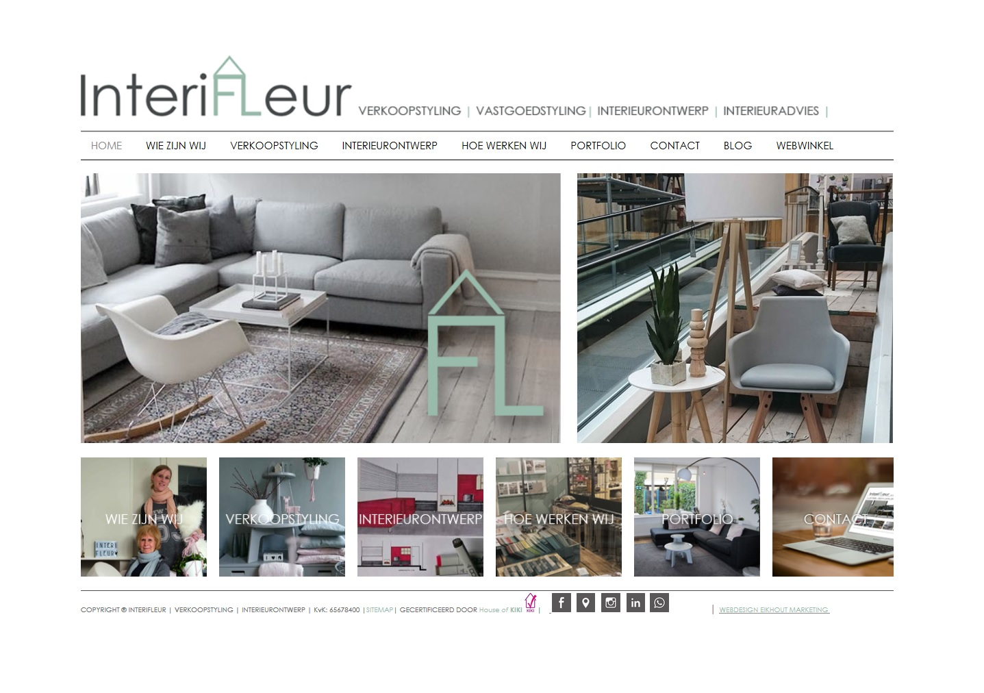 InteriFleur | Webdesign | Marketing werkzaamheden
